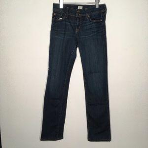 Hudson Ginny Straight Jeans Dark Wash Size 29